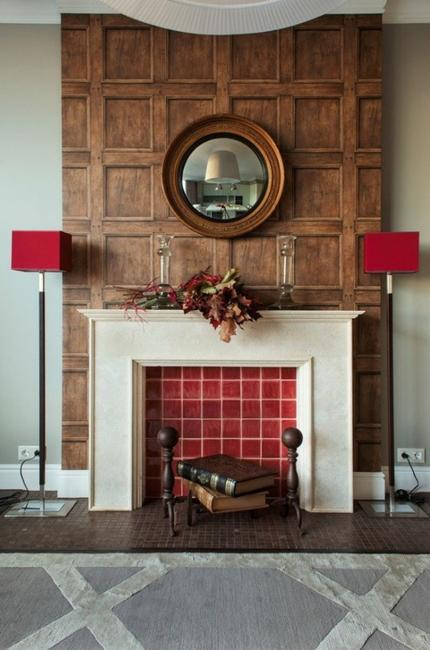 Living Room Decoration: 20 Plus Fake Fireplace Designs And Spectacular DIY