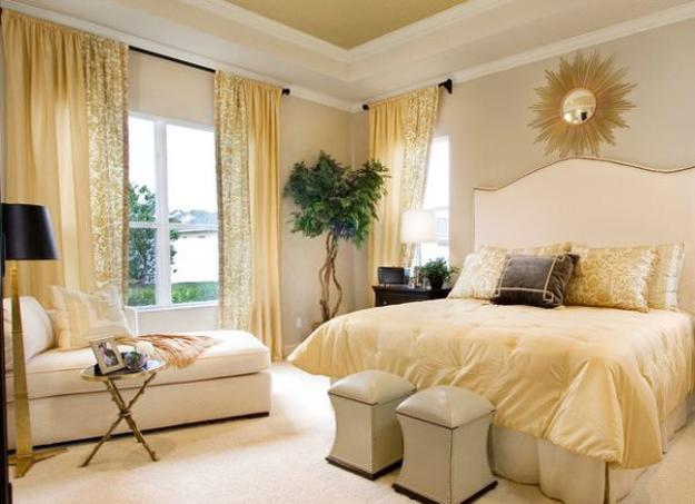 Warm Yellow And Beige Bedroom Colors Modern Ideas In