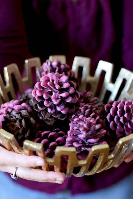 christmas ideas pine cone