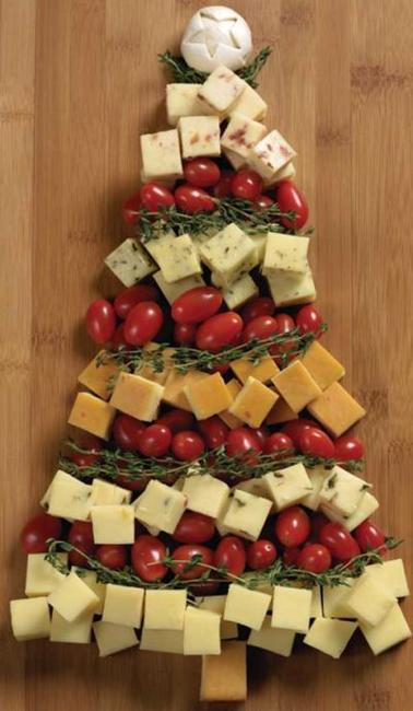 holiday snack food decoration