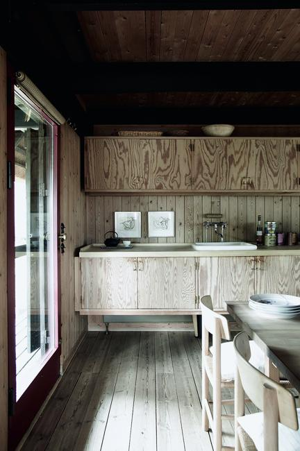 plywood cabinets kitchen design