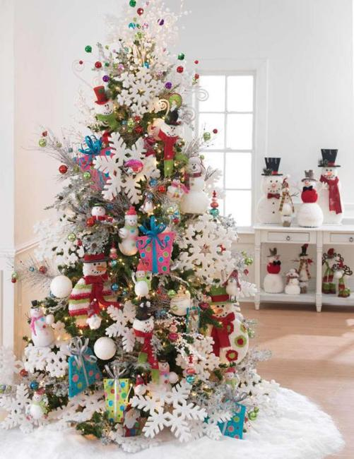 Oversized Christmas Tree Decorations Christmas Trends In Decorating Holiday Trees