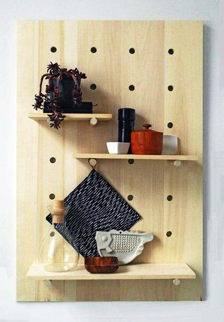 adjustable wall storage shelves