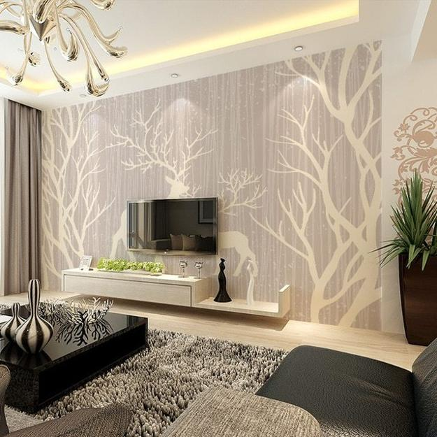 Interior Design Ideas For Home: Trees And Branches Interior Trends, Modern Wall Decorating