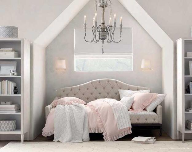 pink colors girl bedroom furniture