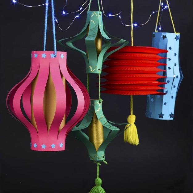 Paper Crafts, Chinese Lanterns For Good Feng Shui And
