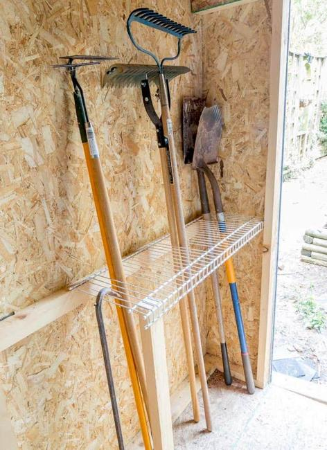 How To Organize Large Gardening Tools