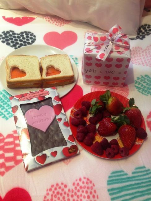 valentines day food