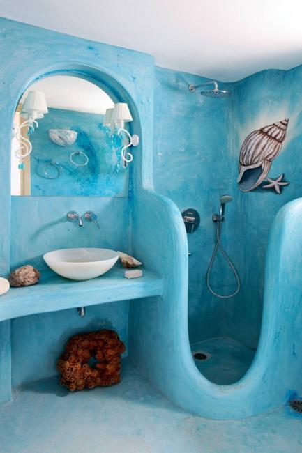 blue bathroom colors