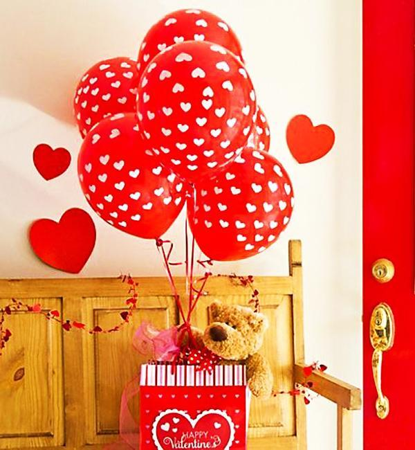 valentines day balloons decorations