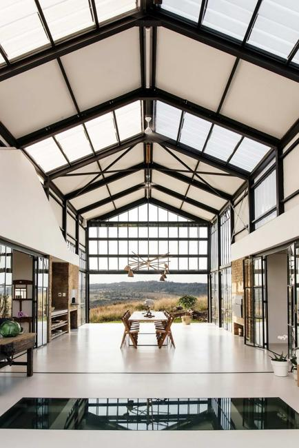 glass roof