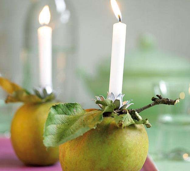 green apple candles