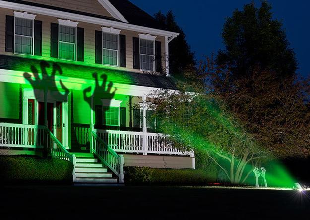 contemporary lights halloween ideas