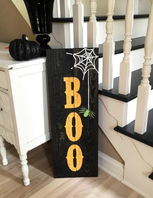 interior decorating halloween