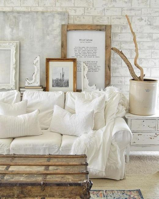white decorating ideas