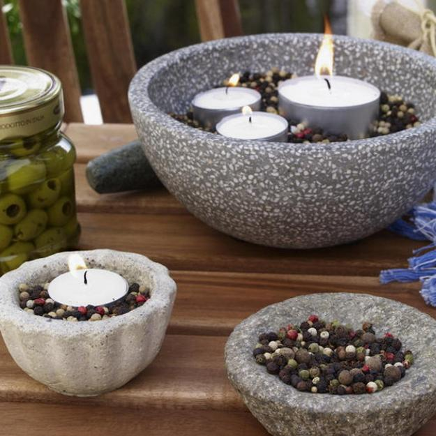 black pepper candles