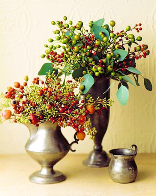 floral arrangement berries