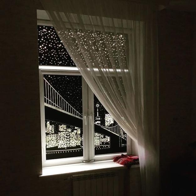 laser cut window curtains