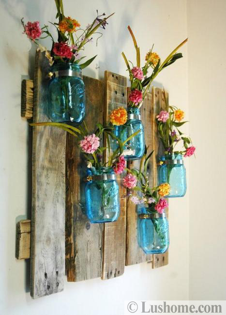 wall decoration flowers