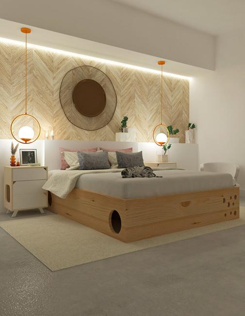 bedroom design wood furniture