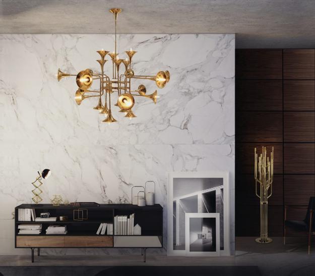 modern living room stone wall tiles