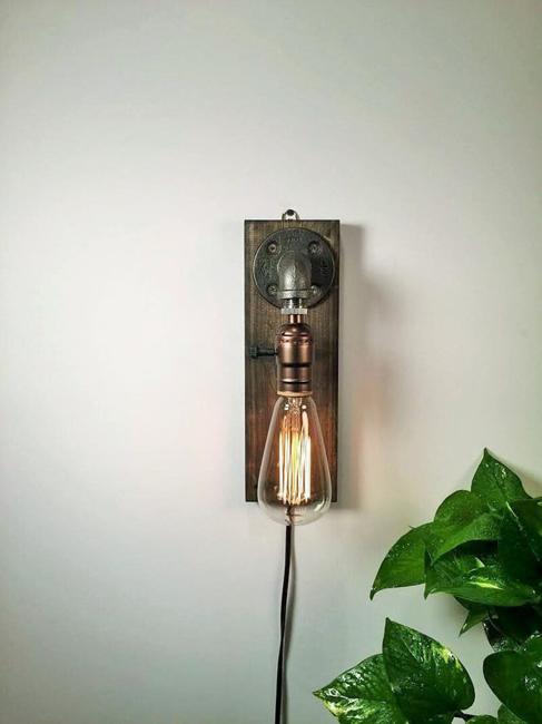 pipe lighting fixtures