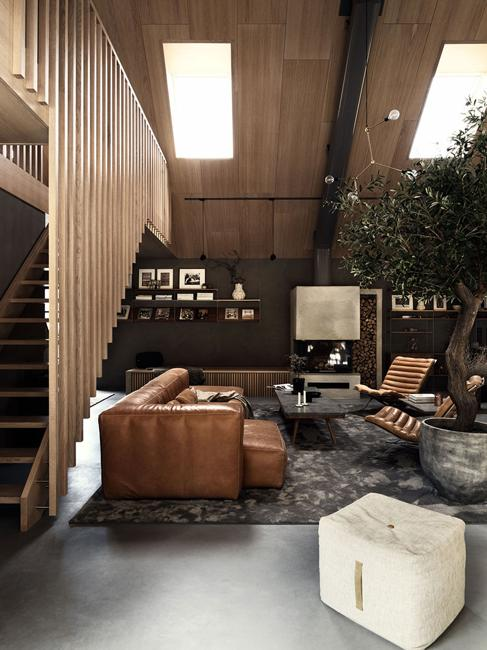 modern living room scandinavian style