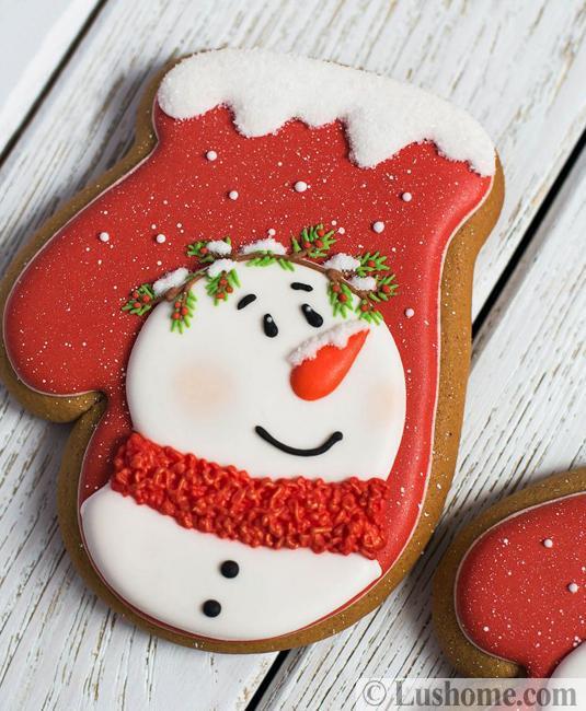 mitten cookie