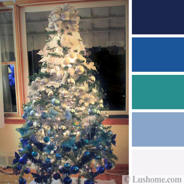 christmas colors trends decorating