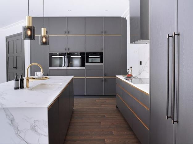 gray kitchen colors