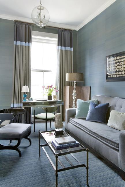 blue room decorating