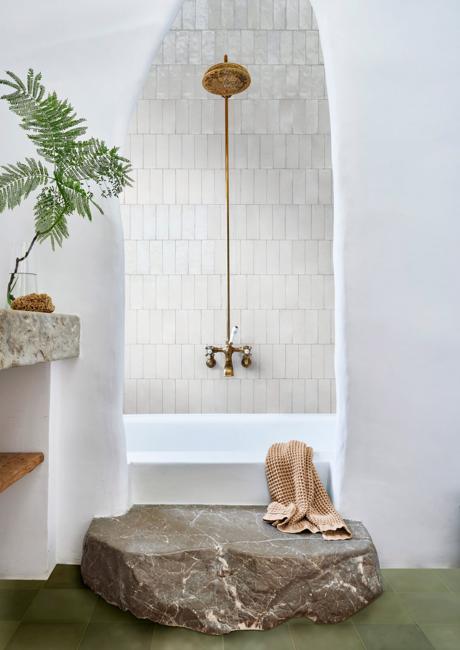 modern bathroom design wall tiles