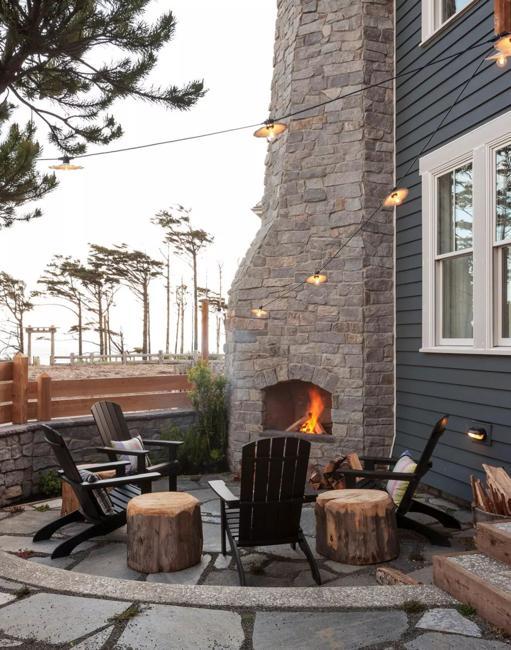 outdoor rooms lighting ideas