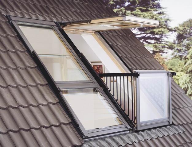 attic windows balcony designs