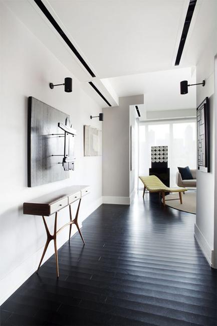 entryway design black flooring ideas