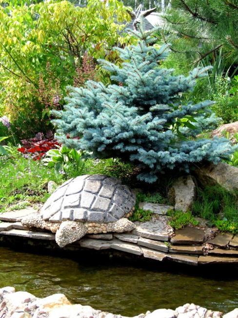 turtle concrete decorations