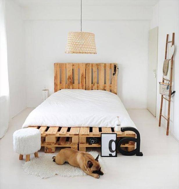 wood bed headboard ideas