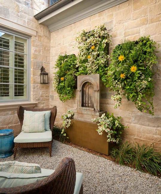 decorative wall panels plants