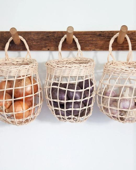 baskets food storage ideas