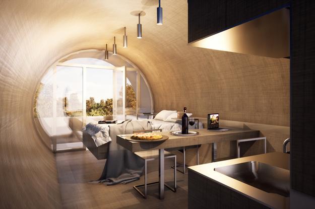wood interior design minimalist style