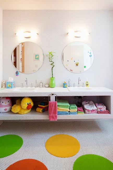 two kids bathroom design