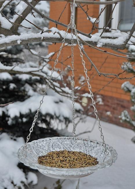 garden art yard decorations handmade bird feeders
