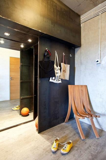 concrete wall floor ceiling