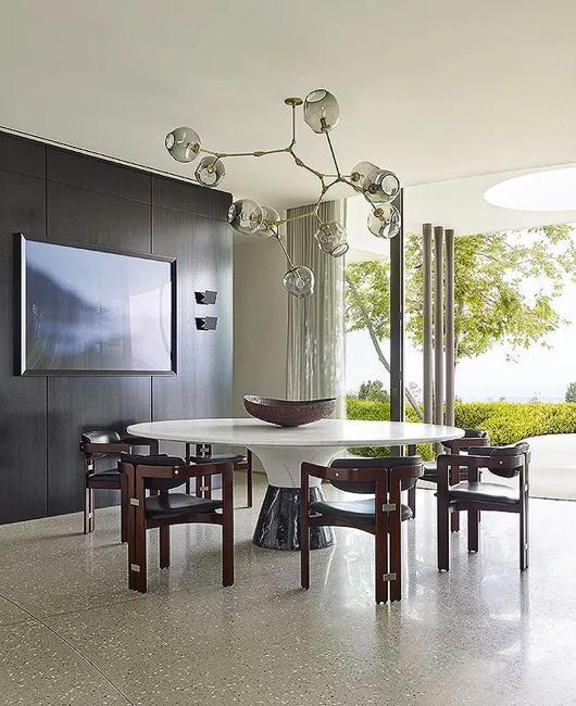 elegant dining room furniture chandelier