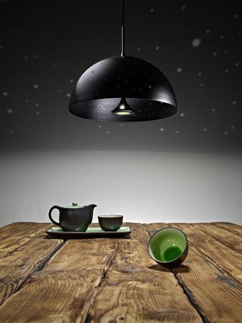 black lighting fixture pendant light