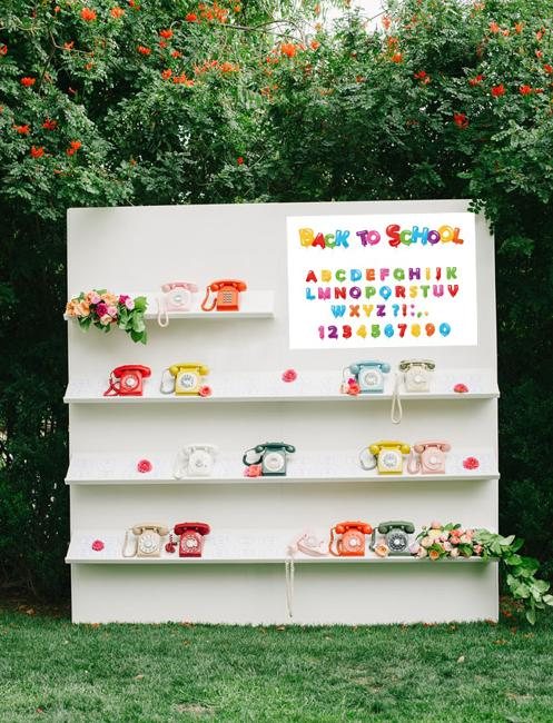 kids party yard decorations